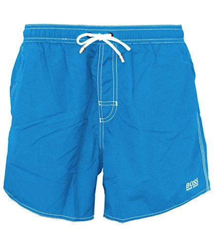 BOSS Hugo Boss Herren Badeshorts Lobster Light Pastel Blue (450)