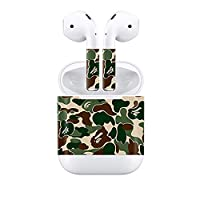 Bellagione Camouflage Color Theme Airpod Sticker AirPod Accessories Portable&Protective PVC Skin Cover Apple Airpod (Camouflage)