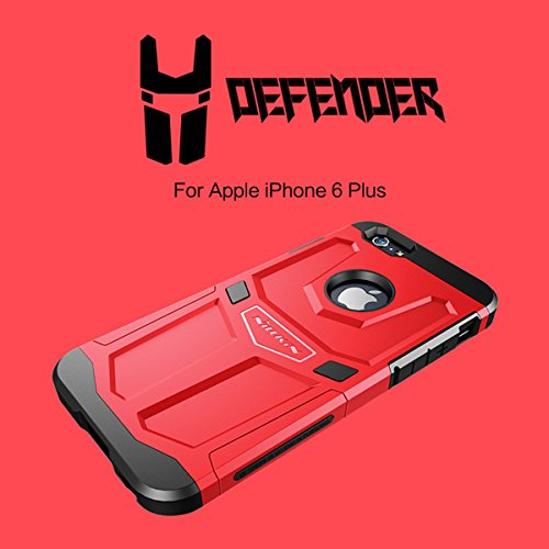 Cover NILLKIN Defender Case For iPhone 6 Plus 5.5inch noir