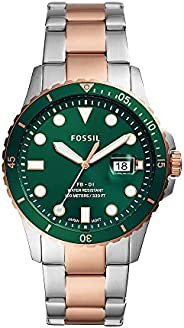 Fossil MENS FB 01 STAINLESS STEEL WATCH FS5765, SILVER, FS5743
