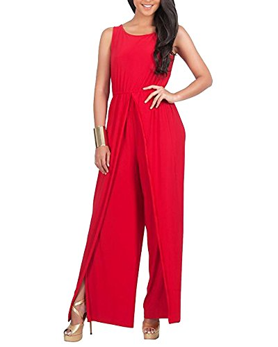 Mono Largo Jumpsuit Fiesta Monos Vestir Sin Mangas Ladies Jumpsuits para Mujer Going out