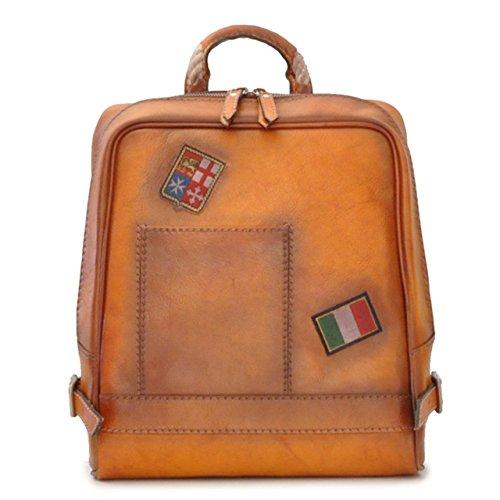 Pratesi Firenze Laptop-Rucksack - B102 Bruce (Cognac) - Pratesi Laptop