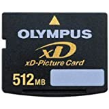 OLYMPUS Carte XD Picture Card (XD) Nand Carte Mémoire Flash 512 Mo