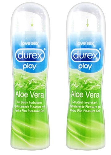 Aloe-vera-gel Gleitmittel (Durex Play Gel Gleitmittel Aloe Vera (2x50 ml))