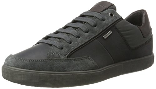 Geox U Taiki B Abx B, Sneakers Basses Homme Gris (Anthracite)