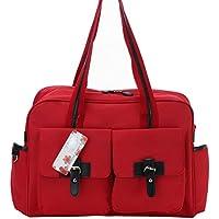 CLD MENGMA pannolino, dicono le donne s-2-Borsa Messenger, colore: rosso