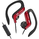 Jvc HA-EBR80-R Sport Clip Headphones wit...