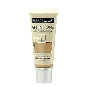 Maybelline Affinitone Perfecting And Protecting Foundation 30ml-17 Rose Beige
