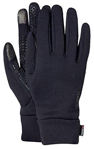 Barts - Powerstretch Touch Gloves, Scaldabraccia Unisex - Adulto, Nero (Schwarz), Taglia unica (Taglia Produttore: One Size)