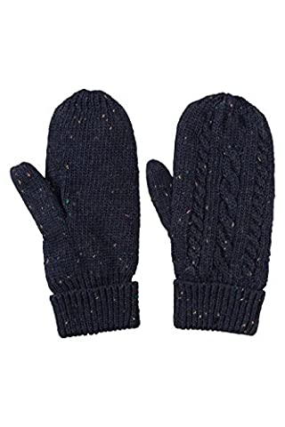 Mountain Warehouse Kaniksu Womens Mittens Navy