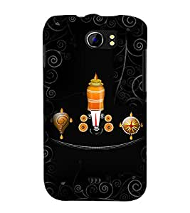 Lord Venkateswara 3D Hard Polycarbonate Designer Back Case Cover for Micromax Canvas 2 A110 :: Micromax Canvas 2 Plus A110Q