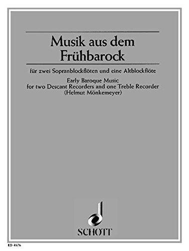 Musik Aus Fruhbarock 2s/Abfl.