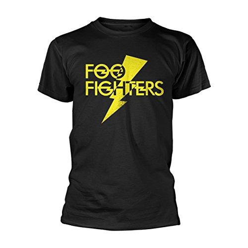 Foo Fighters Thunderbolt Logo T-Shirt schwarz XXL -
