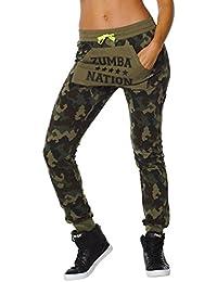Zumba Fitness Nation Pantalon de jogging Femme Grey