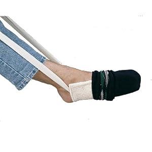 Anziehhilfe für Socken und Strümpfe