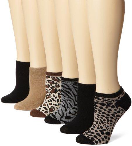 K. Bell Socks Damen Socken Schwarz Cocoa Heather Medium