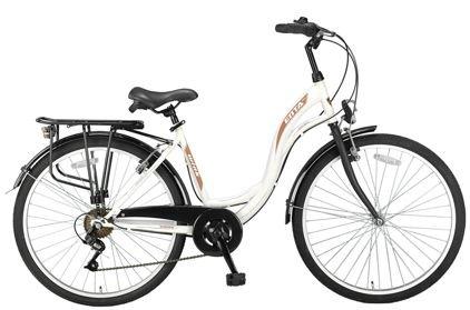 Preisvergleich Produktbild Damen Hollandrad Altec Alanya 26 Zoll 7 Gang weiß