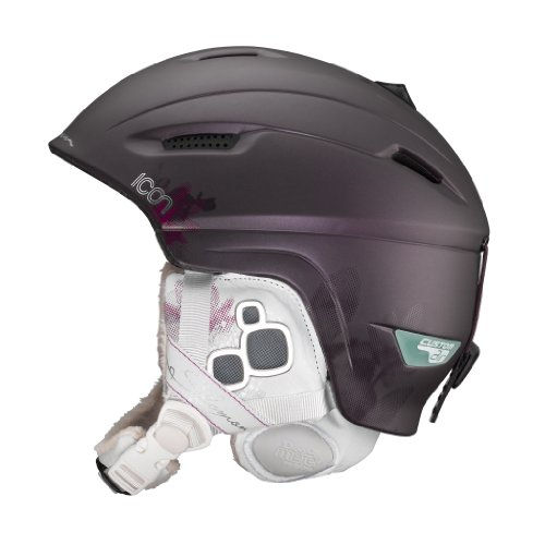 Salomon 12712256 Casque de ski Icon Custom Air...