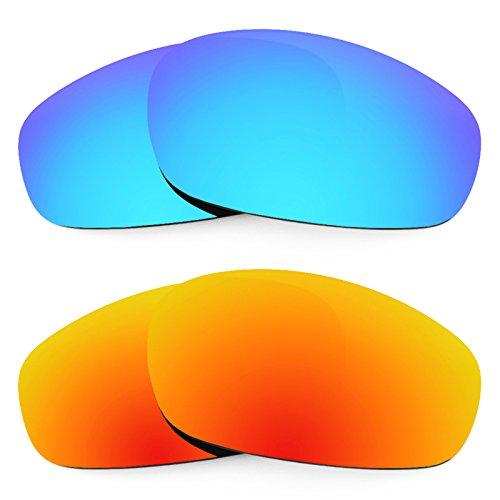Revant Ersatzlinsen für Oakley Split Jacket Polarisiert 2 Paar Kombipack K002