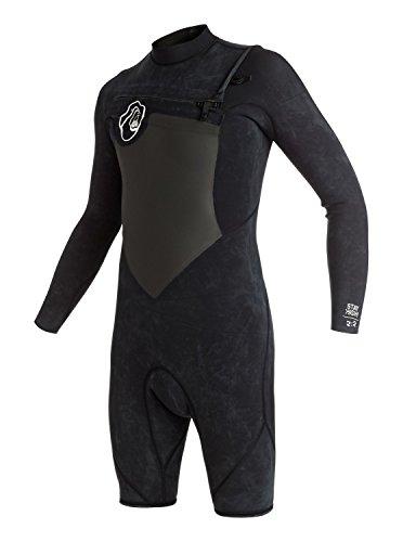 Long Sleeve Springsuit (Quiksilver High Dye 2/2mm - Chest Zip Long Sleeve Springsuit - Jungen)