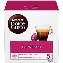 NESCAFÉ DOLCE GUSTO ESPRESSO Caffè espresso 6 confezioni da 16 capsule (96 capsule)
