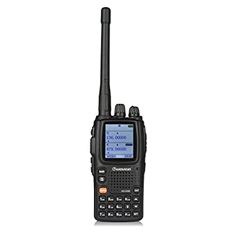 WouXun KG-UV9D Multi-Band Multi-fonctionnel DTMF Talkie Walkie Two-way Radio, Dual-Band