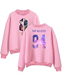 Unisex BTS KPOP Bangtanboys langärmelig Pullover rundhals Shirt Liebpaar