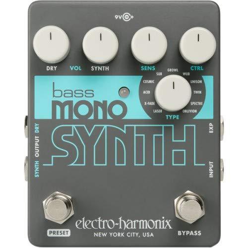 Electro Harmonix Bass Mono Synth Bass Synthesizer