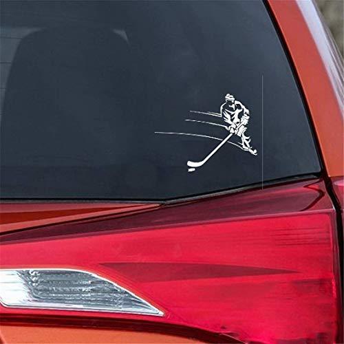 Design Aufkleber Auto 18,3 cm x 13,7 cm Gamer Eishockeyspieler Dekorieren Aufkleber Kofferraum Auto Aufkleber für auto laptop fenster aufkleber