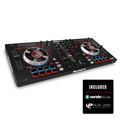 Numark Mixtrack Platinum - Contrôleur DJ 4 Voies, LCD, Jog...