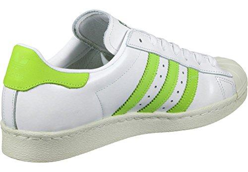 adidas Superstar 80s Schuhe weiß gelb -fahrradwittig.de 7b9ab266e3