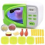 Simulation Lebensmittel Küche Spielzeug Kinder Simulieren Mini Nette Mikrowelle Küche Lernspielzeug Spaß Pretend Rollenspiel Spielzeug Set,2sets