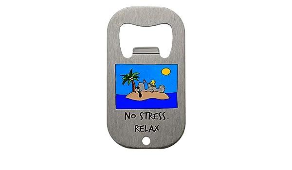 NO STRESS BOTTLE OPENER