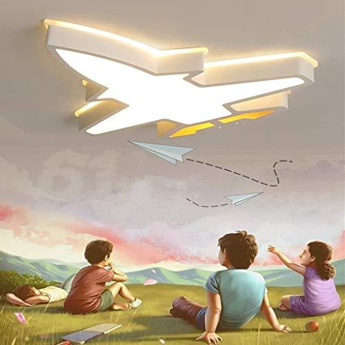 TZZ Lámpara de techo LED regulable creativo Aviones moderno con el techo de control remoto accesorio de iluminación for el dormitorio, comedor, habitación de los niños, Cocina