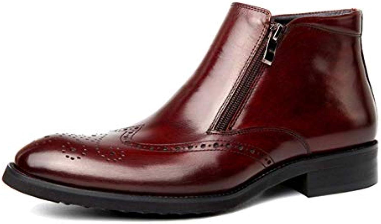 XDLJL Scarpe da Uomo in Pelle Uomini A Punta Scarpe da Uomo Versatili da Lavoro | di moda  | Maschio/Ragazze Scarpa