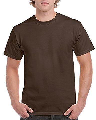 Gildan ultra T shirt dark chocolate XL (GD02)