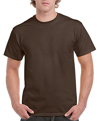 Gildan Ultra Cotton ™ Adult T-Shirt Braun - Dark chocolate