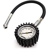 TireTek Flexi-Pro Tyre Pressure Gauge, Heavy Duty Car & Motorbike - 60 PSI