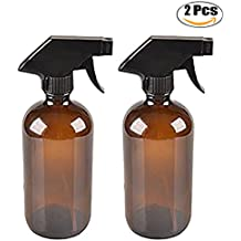 Kapmore 2 Piezas Vaso Rociar Botella Esencial Petróleo Rociar Botella Portátil Recargable Rociar Envase ...