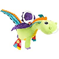 Lamaze Flip Flap Dragon Clip On Pram and Pushchair Baby Toy - ukpricecomparsion.eu