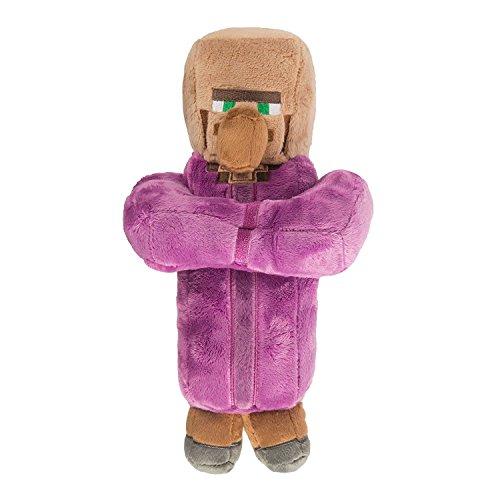 "Villager Priest Plush - Purple - 30cm 12"""