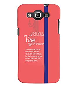 Fuson Premium Virtous Virgo Printed Hard Plastic Back Case Cover for Samsung Galaxy Grand Quattro i8552