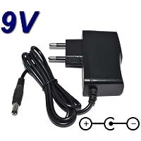 TOP CHARGEUR ® Netzteil Netzadapter Ladekabel Ladegerät 9V für Multieffektpedal Verstärker-Effekte Zoom G1Xon G1on