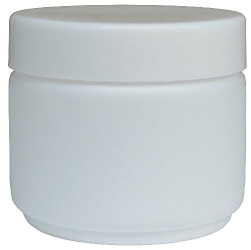 20 pezzi Barattoli di crema coperchio incluso / modello die base 50ml (bianco)