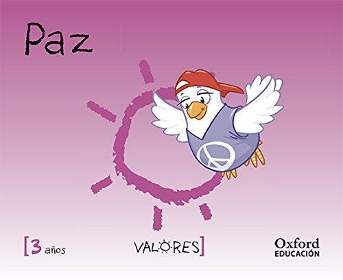 Educación En Valores 3 Años. Paz (Educacion en Valores Segunda Edición) - 9788467381733