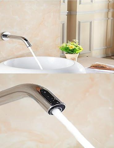 Hjkdgh robinet électronique automatique Sense robinet de lavabo support mural D