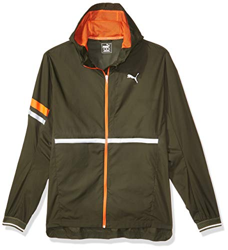 Puma Herren LastLap Jacket Jacke, Forest Night Heather, L
