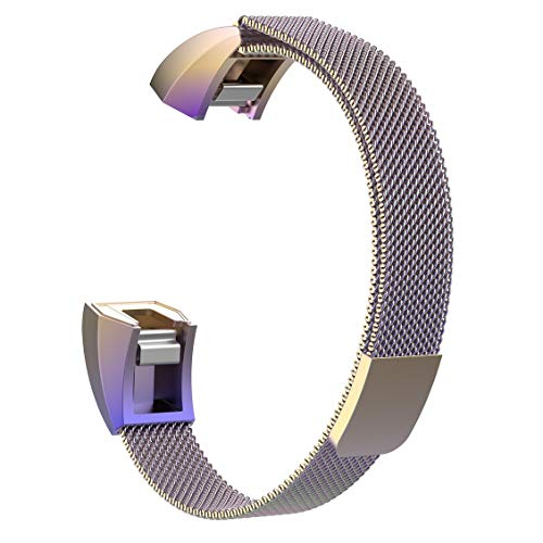 ForceSthrength Für Fitbit Ace Smart Armband Milanese Strap Alta Hr Magnetic Wristband (Ace Magnetics)