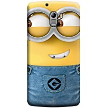 Ebby Minions Premium Printed Back Cover for Lenovo A7010/K4 Note ( Premium Designer Case)