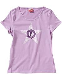 Puma 821898 T-shirt en coton bio pour fille